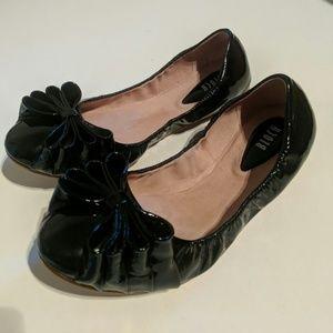 Black Ballet Flats by Bloch